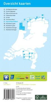 Wandelkaart wandelnetwerk Kop van Noord Holland