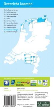 Wandelknooppunten wandelkaart Noordwest Groningen